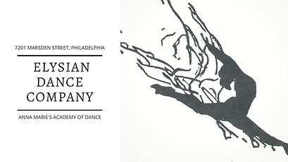 HOME OF THE ELYSIAN DANCE COMPANY. SERVI