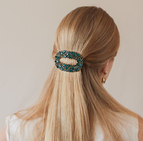 Emerald Green Hair Clip