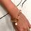 Thumbnail: êta chain bracelet