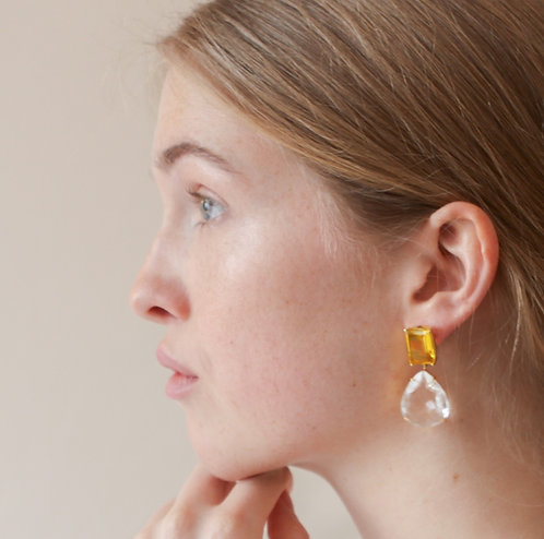 Lemon Earring