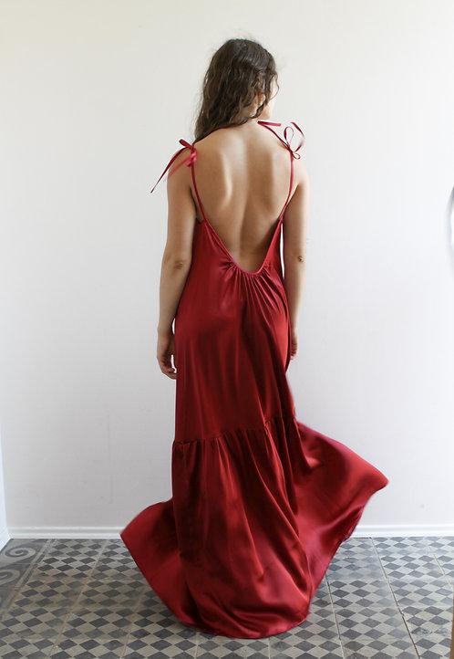 Carmen Silk Dress