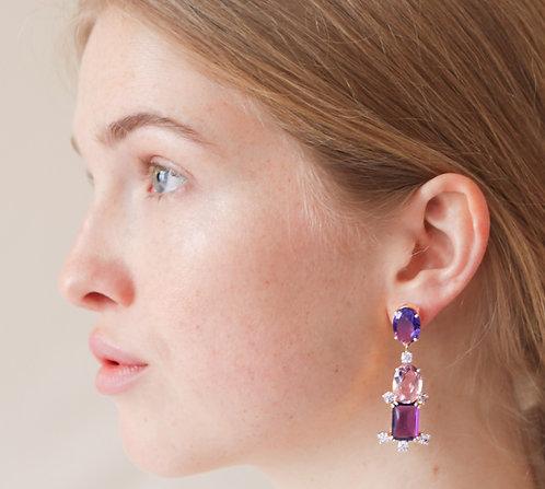 Fuchsia Earring