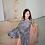 Thumbnail: Barbara Silk Gingham Dress