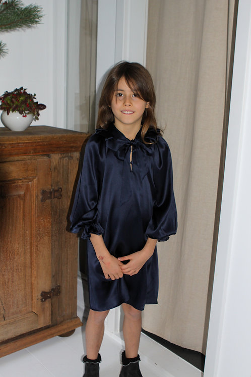Luca Girls Silk Dress