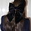 Thumbnail: Velvet Hair Bow Black