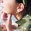 Thumbnail: Single Bohemian Glass Earrings
