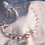 Thumbnail: Bohemian Glass & Pearl Necklace