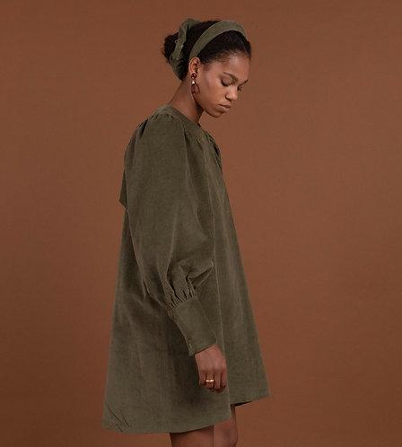 Palomo Mini Dress Olive