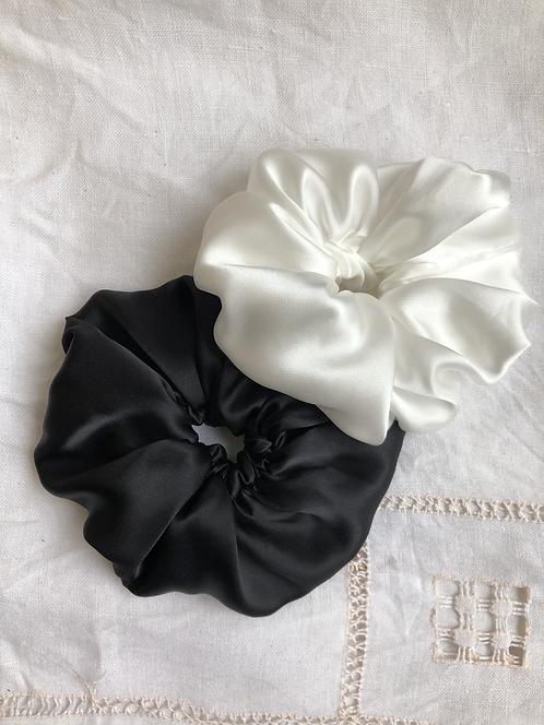 A Pair of Silk Scrunchies