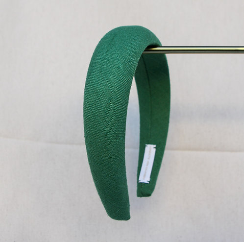 Linen Alice Band Ivy