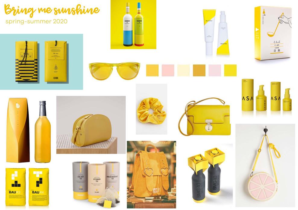 Bring me the sunshine trend Spring-Summer 2020