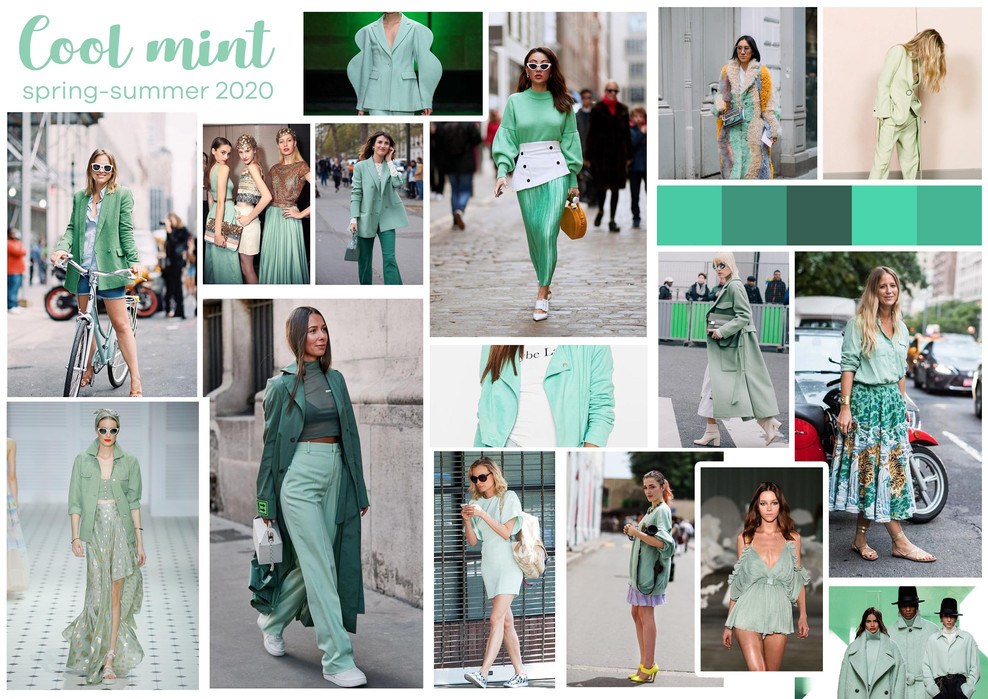 Cool Mint trend Spring-Summer 2020