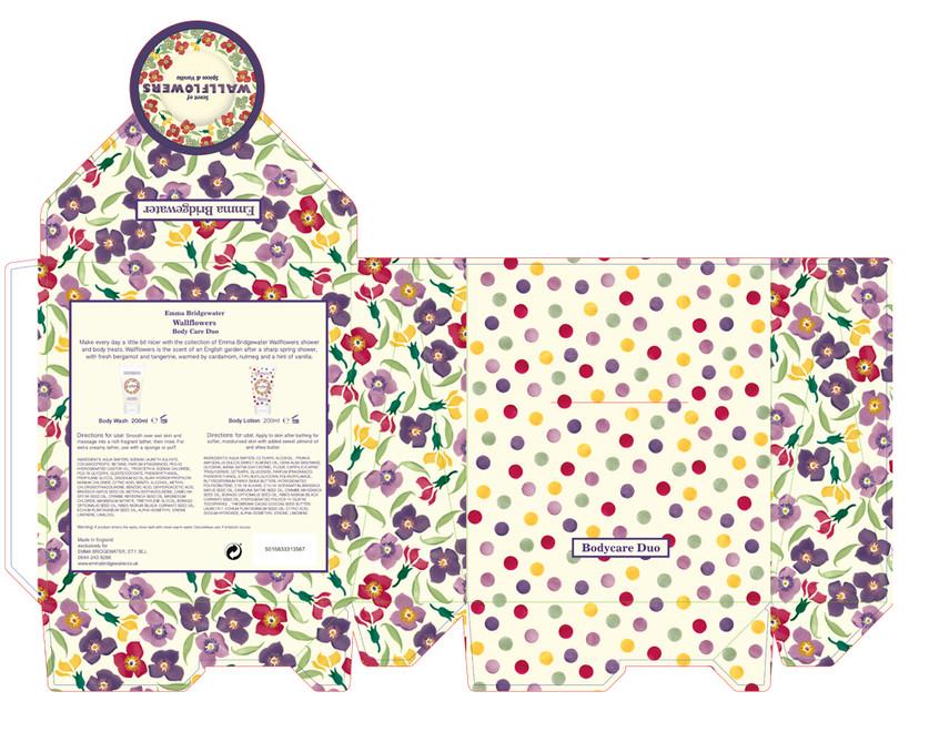 Envelope style box Art work