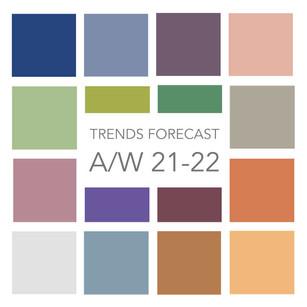Trends forecast Autumn/Winter 2021-2022