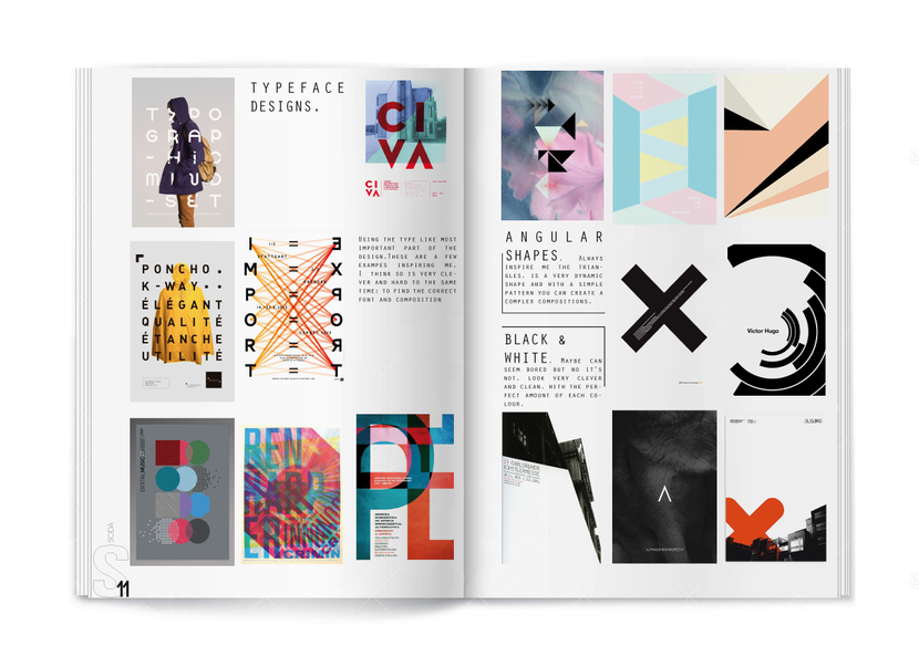 Typeface designs