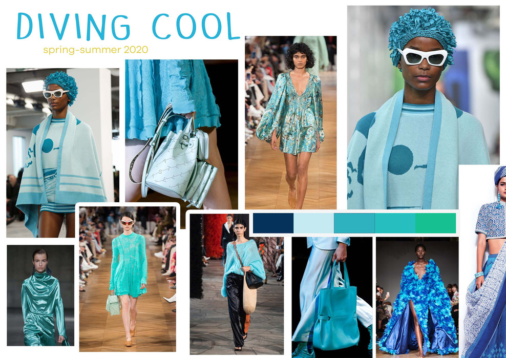 Diving Cool trend Spring-Summer 2020