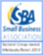 SBA Award 2010