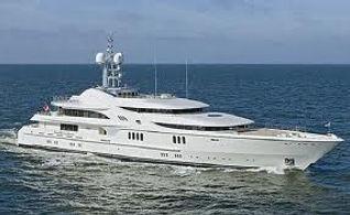 Mega Yacht in Barbados