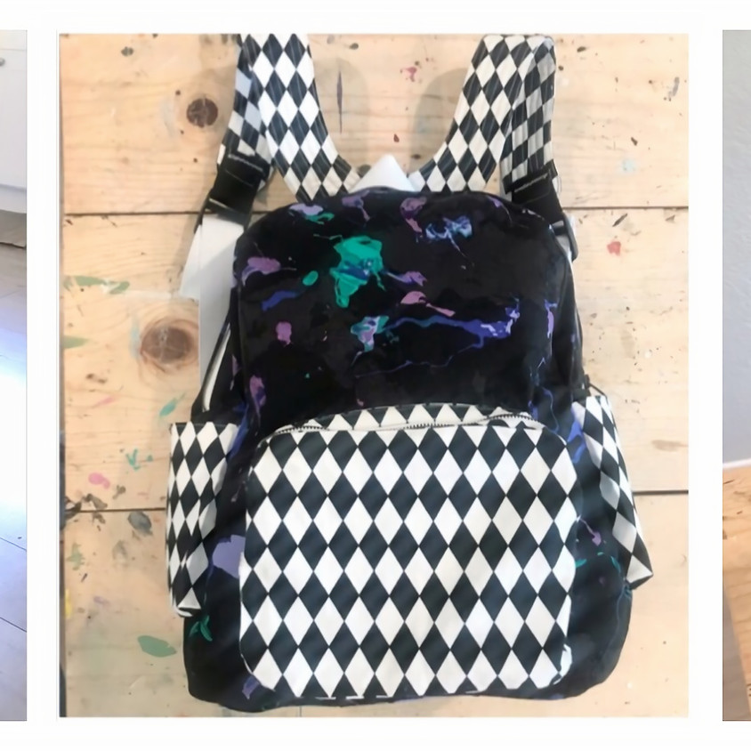 """Summer Session - 9 Weeks of """"Sew A Backpack"""""""