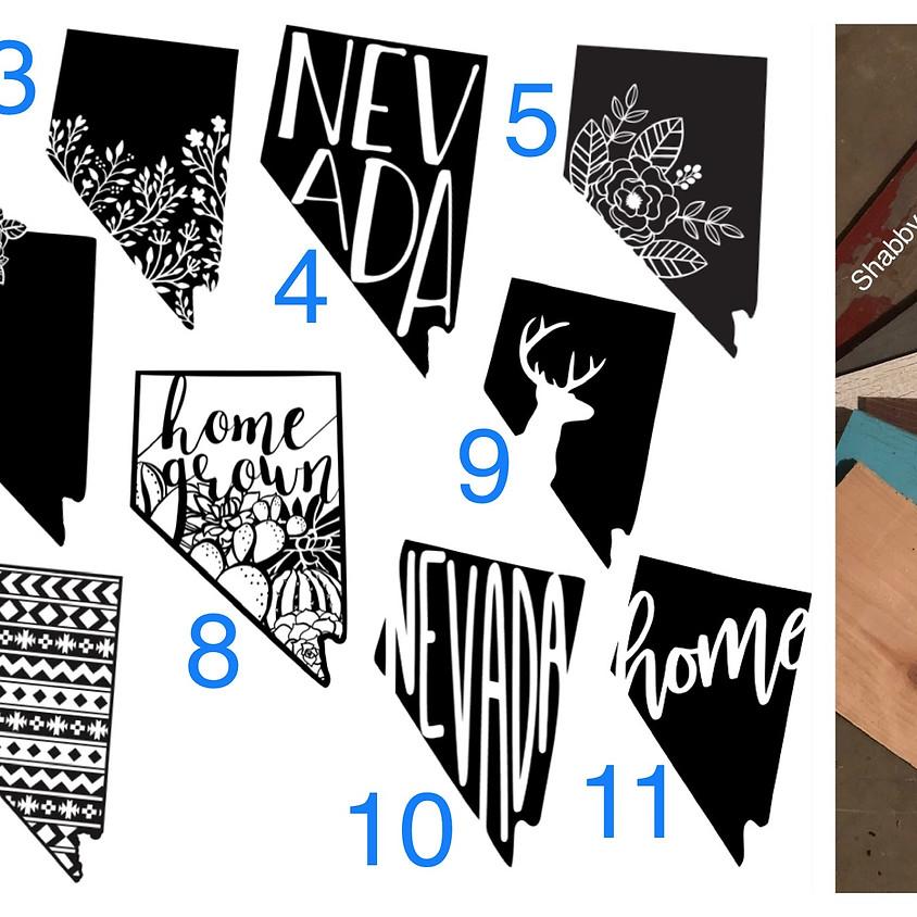 Nevada Wood Signs - Take & Make
