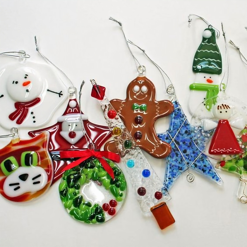 Glass Fused Ornaments