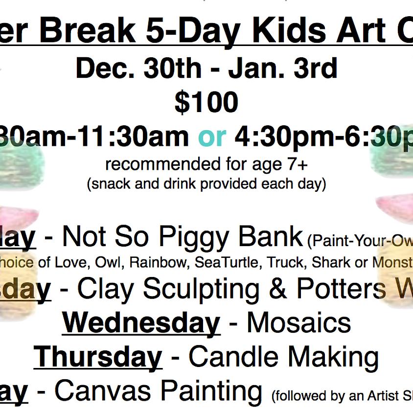 Winter Break 5-Day Kids Art Camp