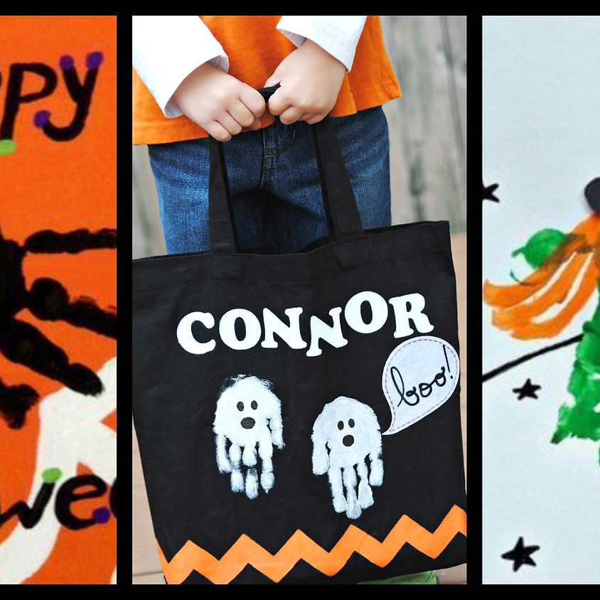 Lil' Artists - Trick or Treat Bags