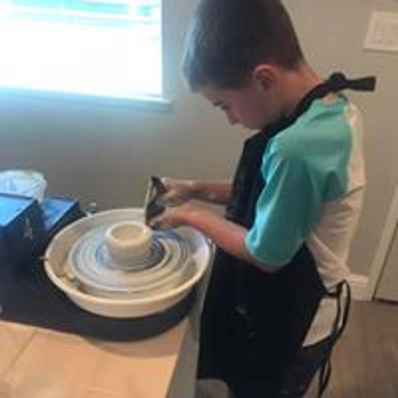 Kids Art Club - Pottery Wheel & Sculpting