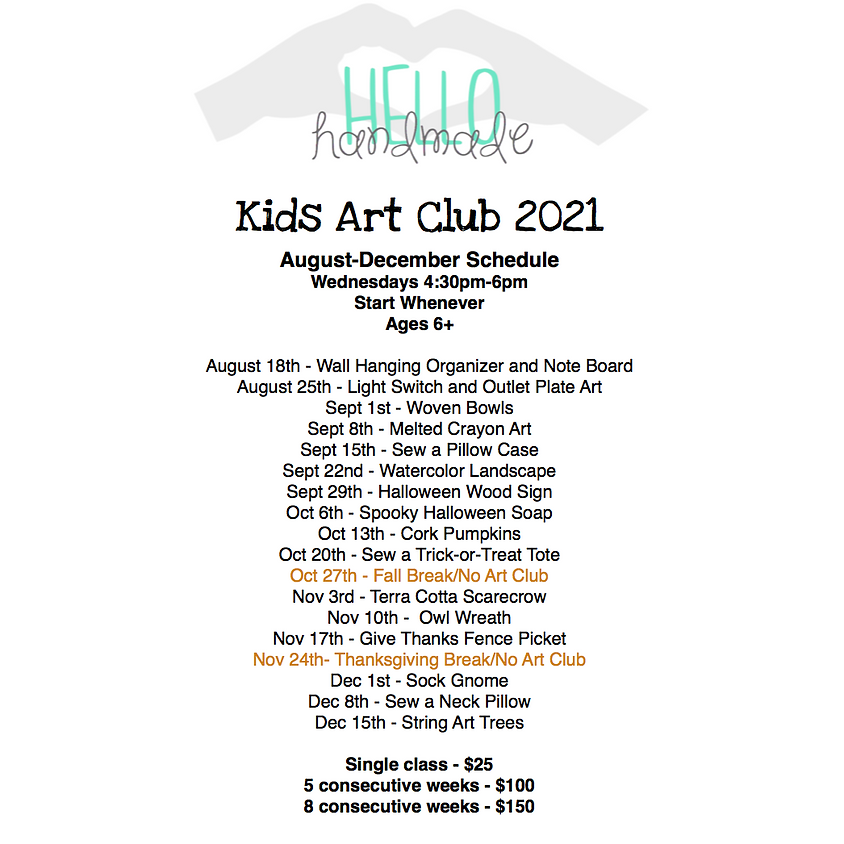 Kids Art Club - Woven Bowls