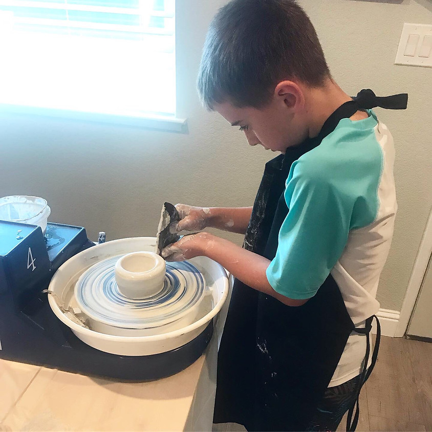 Kids Art Club - Clay Sculpting and Potters Wheel - SOLD OUT