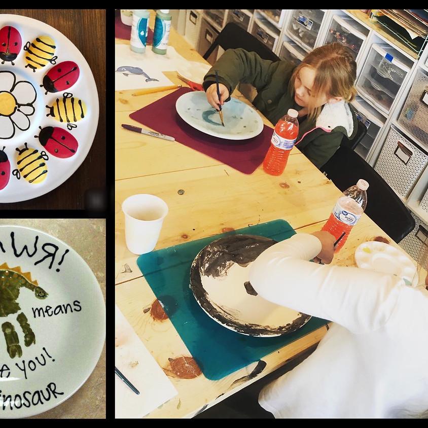 Family Day Ceramic Painting