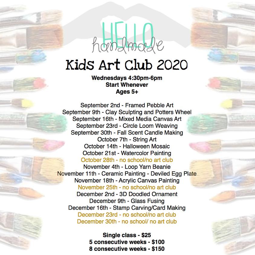 Wednesday Kids Art Club - Ceramic Painting