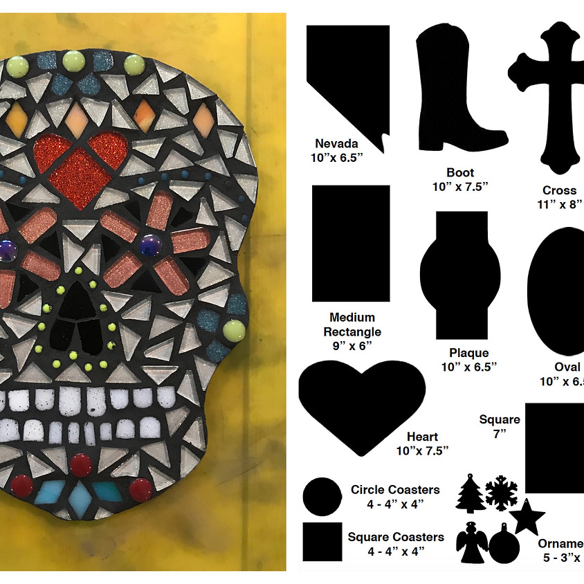Sugar Skull Mosaic