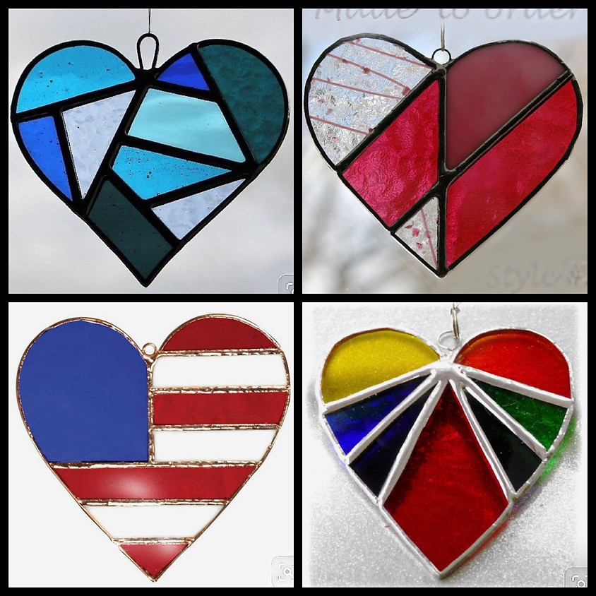 Stained Glass - Heart