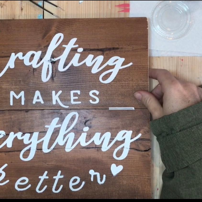 Wood Signs - Make & Take