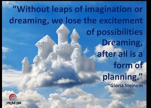 Dreaming, Imagination, Planning, Goals