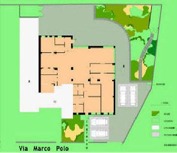 Mappa dell'asilo nido vicenza