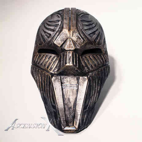 Masque sith (PLA). Traitement de surface