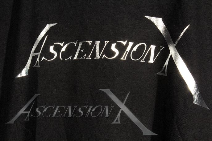 T-shirt AX (vinyle aluminium)