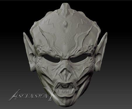Masque Yuuzhan Vong (modèle 1 pièce)