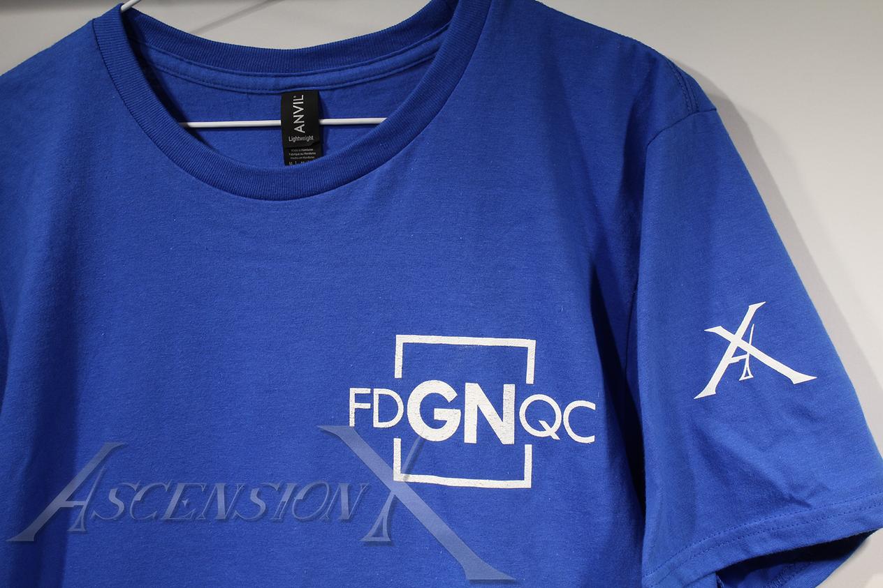 """T-shirt """"Fédération des Grandeurs Natures"""""""