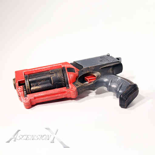Handgun NERF. Traitement de surface_