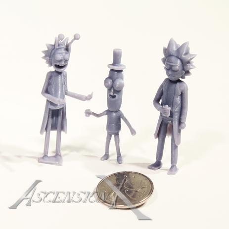 Figurines Rick and Morty (résine)