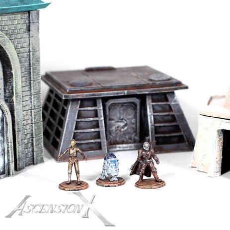 Figurines star wars. fan art. (resine et ABS)