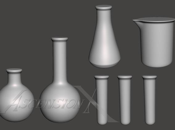 Modélisation 3D-Fioles-GN