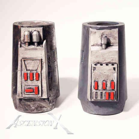Bracers Mandalorien (PLA). Traitement de