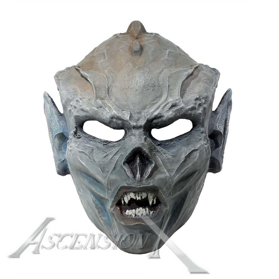 Masque Yuzanvon (TPU). Traitement de sur