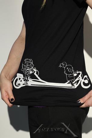 T-shirt Citric et Dan ''Je fais du vélo tandem''