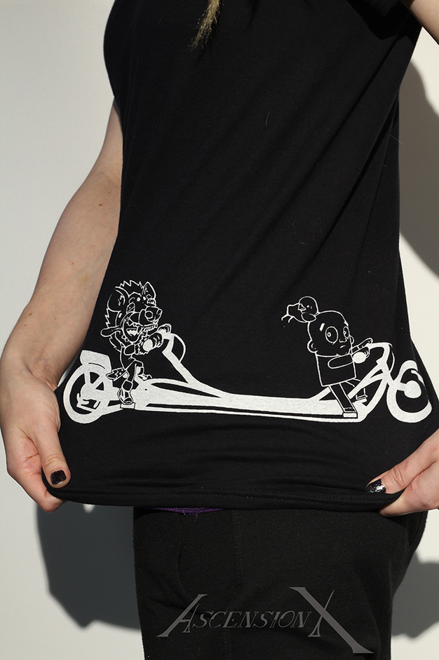 T-shirt Citric et Dan ''JE fais du vélo