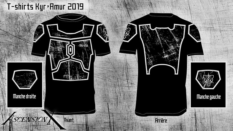 Concept T-shirt Mandalorien